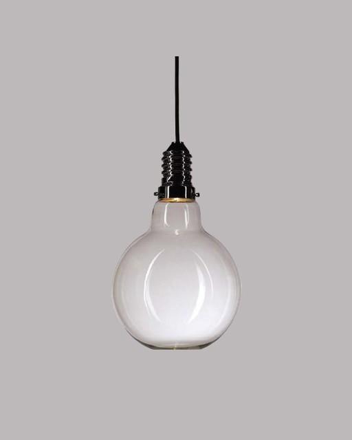 screw in globe glass pendant light for dining room. Black Bedroom Furniture Sets. Home Design Ideas