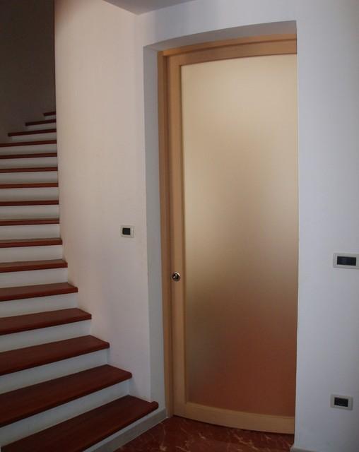 The circle 39 s perfection round plan interior doors - Porte interne contemporanee ...