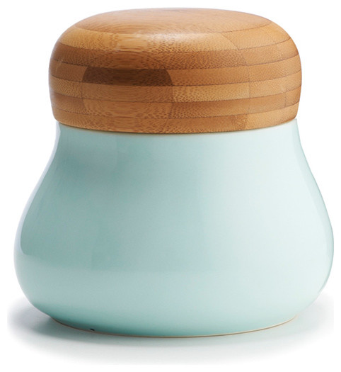 mano storage jar medium blue contemporary kitchen rockies candy jar modern kitchen canisters and jars