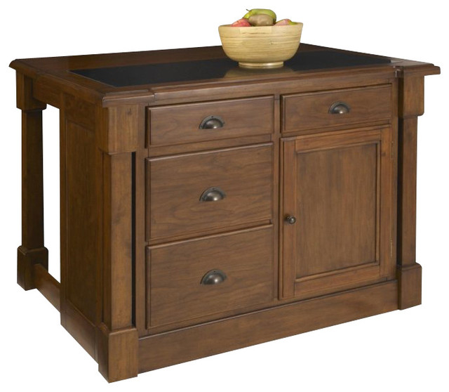 home styles aspen kitchen island with drop leaf kitchen islands and kitchen carts by cymax. Black Bedroom Furniture Sets. Home Design Ideas