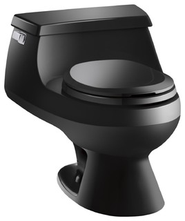Kohler Toilets Uk : Kohler Rialto French Curved Seat Round Front Toilet - Contemporary ...