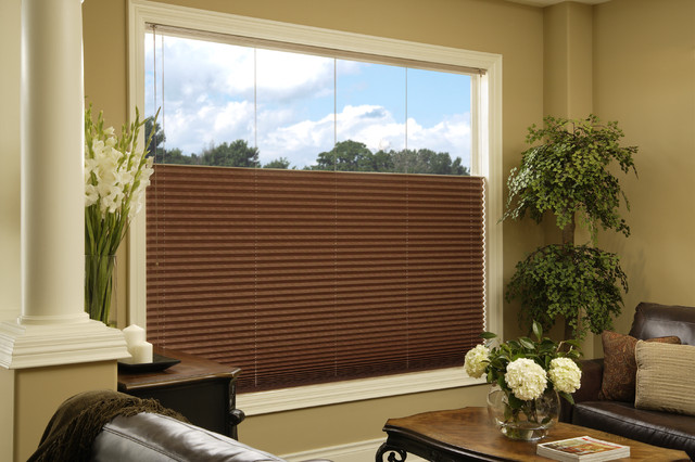 Pleated Shades Window Treatments Vancouver By HT Blinds