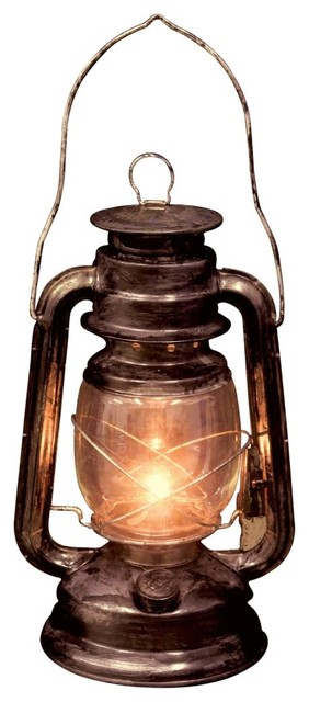 light up old lantern eclectic table lamps by amazon