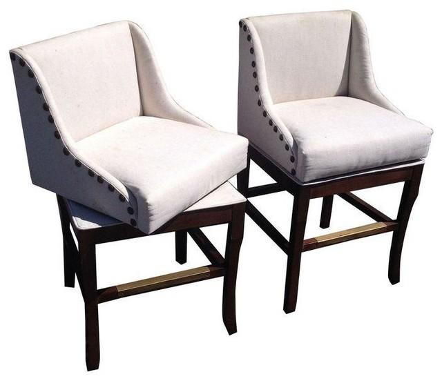 ballard designs marcello stools contemporary living