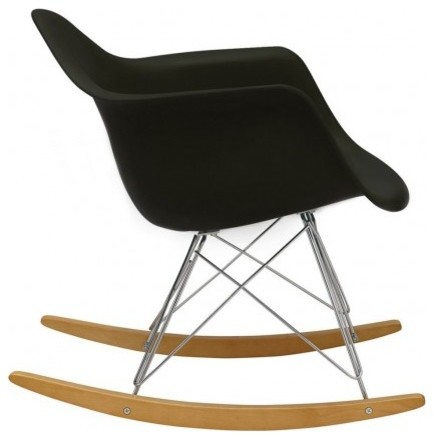 eames rar chair black contemporary rocking chairs by the conran shop. Black Bedroom Furniture Sets. Home Design Ideas
