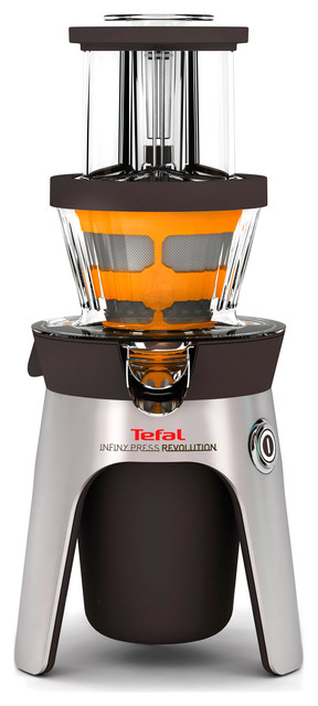 Tefal Zc500 Infiny Slow Cold Press Juicer : Tefal ZC500 Infiny Cold Press Juicer - Contemporary - Juicers - by myer.com.au