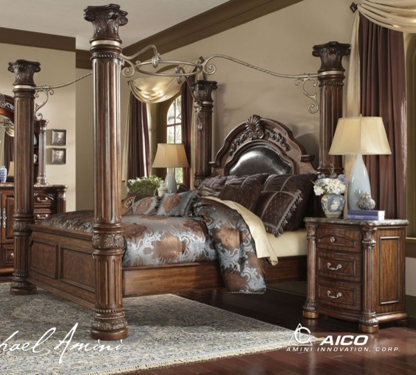 AICO Furniture Monte Carlo II 7 Piece California King