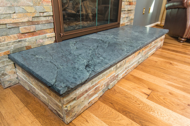 soapstone fireplace surround traditional dc metro by