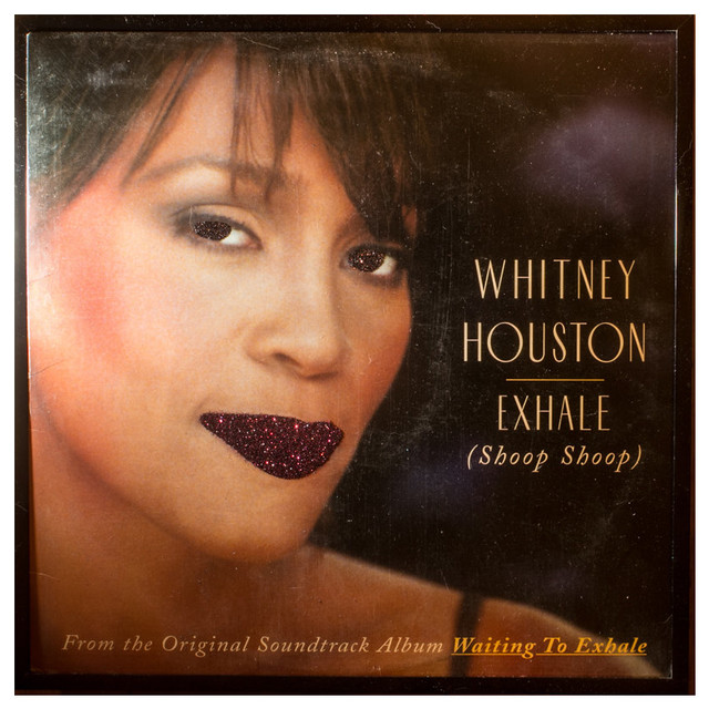 Glittered Whitney Houston Exhale Album Eclectic