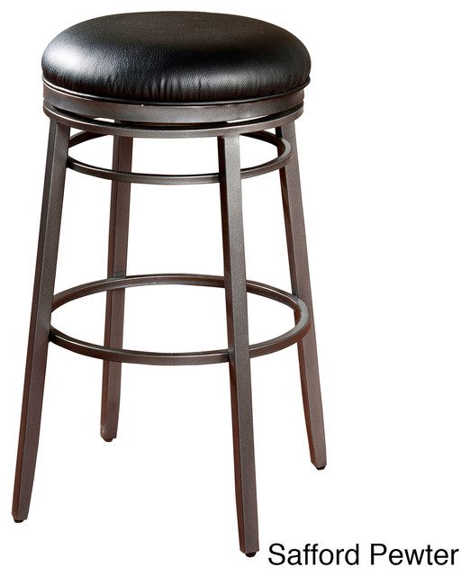 Safford Backless Counter Stool Contemporary Bar Stools