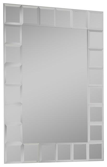 Montreal Modern Bathroom Mirror Bathroom Mirrors By Decor