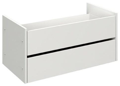 m o lot de 2 tiroirs pour dressing composer de 100cm contemporain armoire et placard par. Black Bedroom Furniture Sets. Home Design Ideas