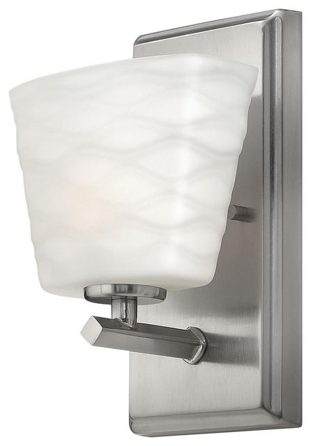 Vanity Lights Single : Hinkley Lighting Single Light Bathroom Vanity Fixture - Contemporary - Bathroom Vanity Lighting ...