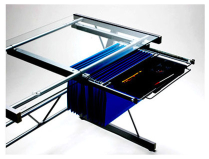 Black Metal File Drawer - Modern - Desks And Hutches - by ...