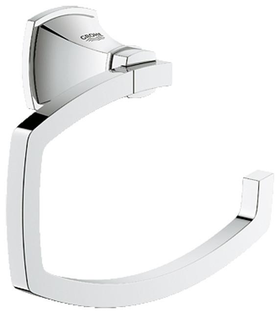 Grohe 40625000 Chrome Grandera Series Toilet Paper Holder