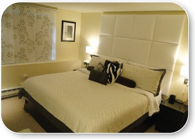 faux leather headboard king 3