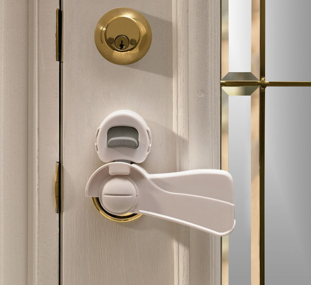 KidCo Door Lever Lock - Tropical - Baby Gates And Child Safety