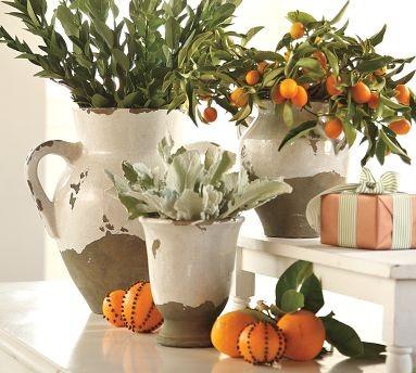 Tuscan Urns Amp Cachepot Mediterranean Indoor Pots And