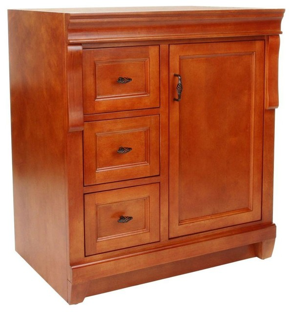 Foremost Cabinets Naples 30 in. W x 21-7/8 in. D x 34 in. H Vanity Cabinet Only contemporary ...
