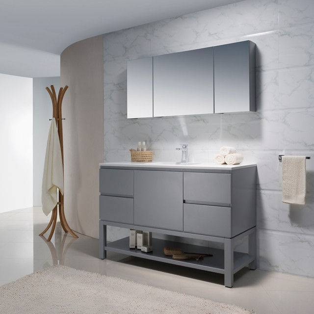 Modern bathroom vanities modern bathroom vanities and sink consoles miami by bathroom place for Bathroom consoles and vanities
