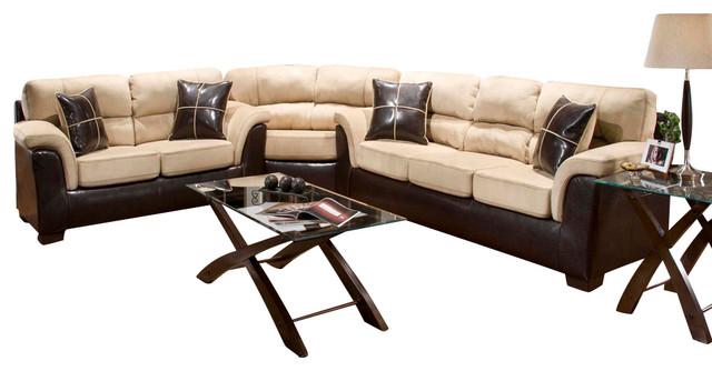 chelsea home annabelle 4 piece living room set in laredo