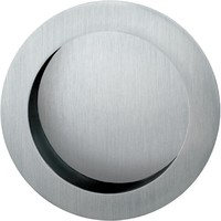 Fsb round open cup pull modern pocket door hardware other metro by stainlessdoorhardware - Fsb pocket door hardware ...