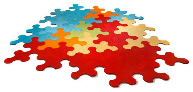 Puzzle rug imperial modern kinderteppiche von - Alfombra puzzle ninos ...