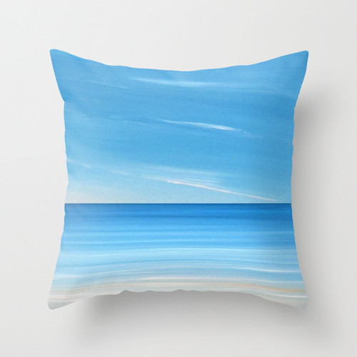 Coastal Home Throw Pillows : Coastal Beach throw pillows