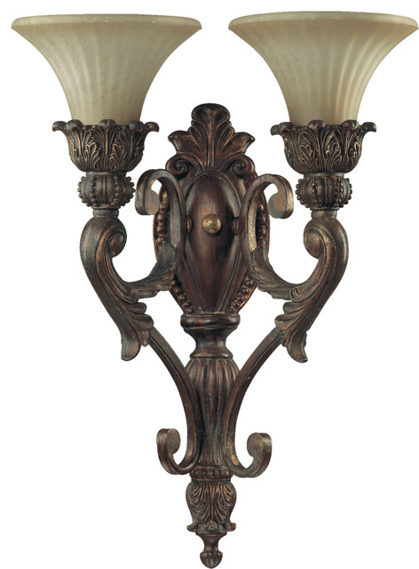 Quorum International 5530-2-88 Madeleine Corsican Gold Wall Sconce - Contemporary - Wall Sconces ...