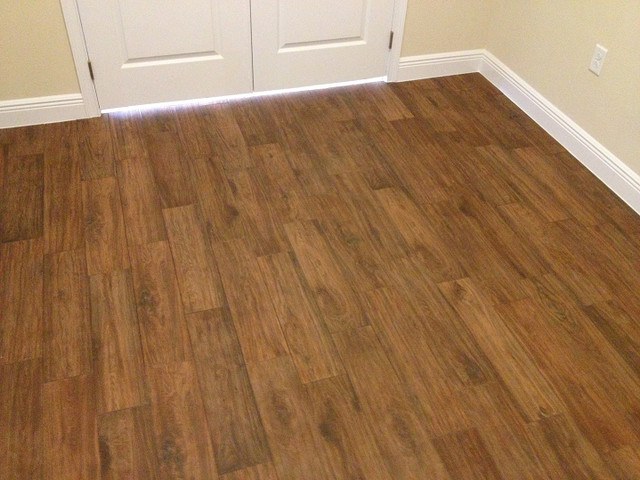 Porcelain Plank Wood Look Tile Installations T A Florida Traditional T ...