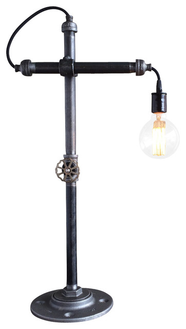 Pipe Task Lamp Industrial Desk Lamps By Peared Creation