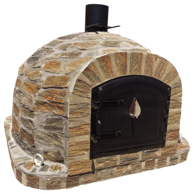 Wood fired oven brick model natural stone - Forni per pizza da giardino ...