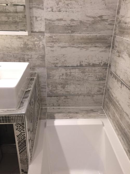Petite salle d eau deco mod le id e d co salle de bain for Comdeco petite salle d eau