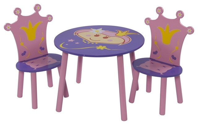 princesse ensemble table et chaises pour enfant. Black Bedroom Furniture Sets. Home Design Ideas