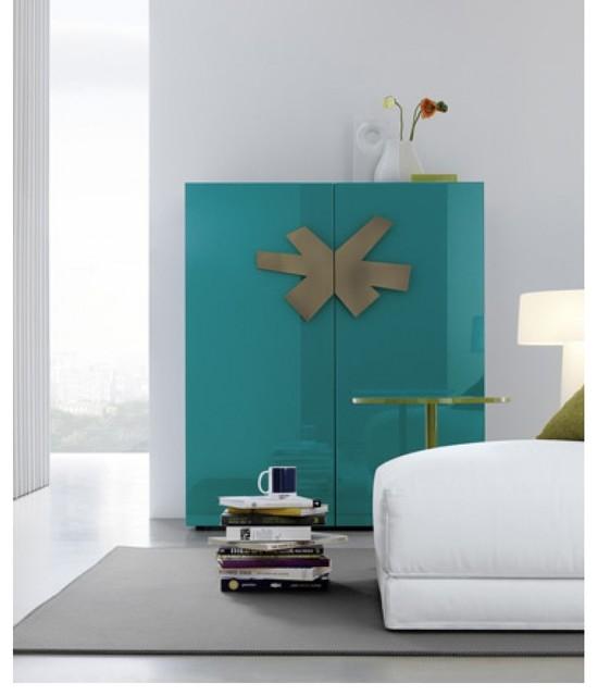 Jesse 39 frame quadra 39 contemporary storage cabinets for Sideboard quadra