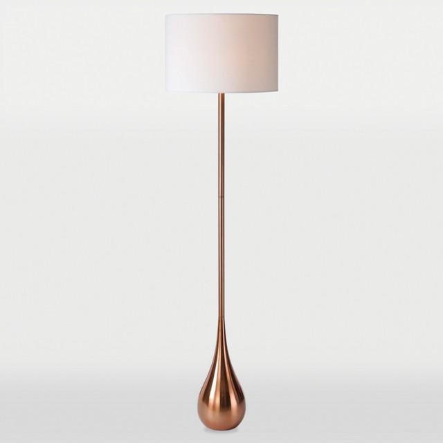 pandora 1 light copper floor lamp contemporary floor