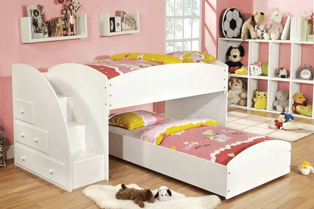 Trundle Bed With Desk And Drawers Loft Bed With Desk And Trundle