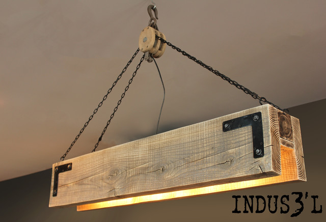 Suspension indus3 39 l rectangulaire industriel suspension luminaire m - Suspension type industriel ...