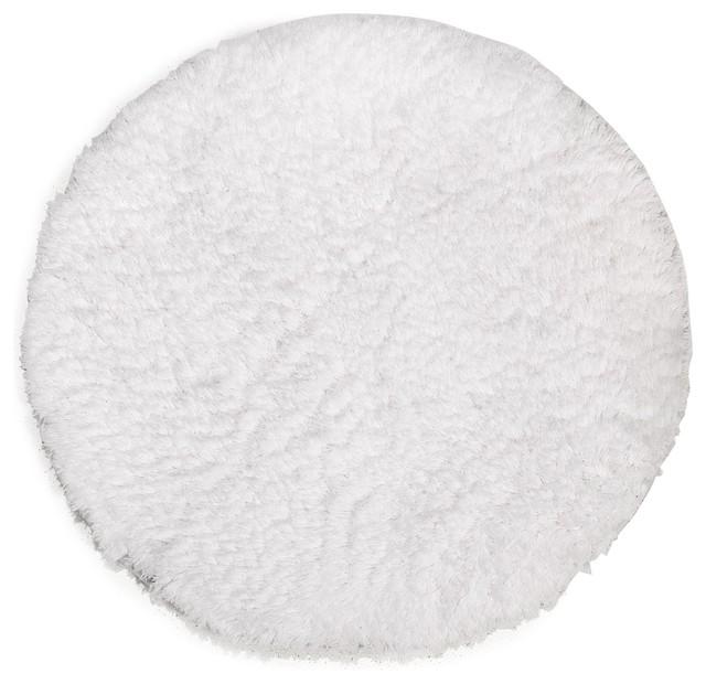 nuage tapis de bain rond blanc bord de mer tapis de. Black Bedroom Furniture Sets. Home Design Ideas