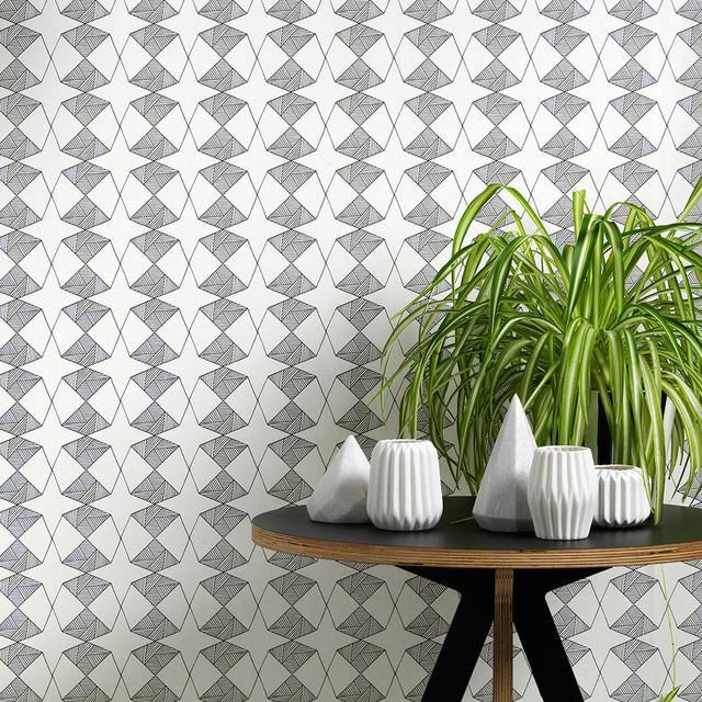 Etoile Wallpaper Scandinavian Wallpaper By Sian Elin: scandinavian wallpaper and decor