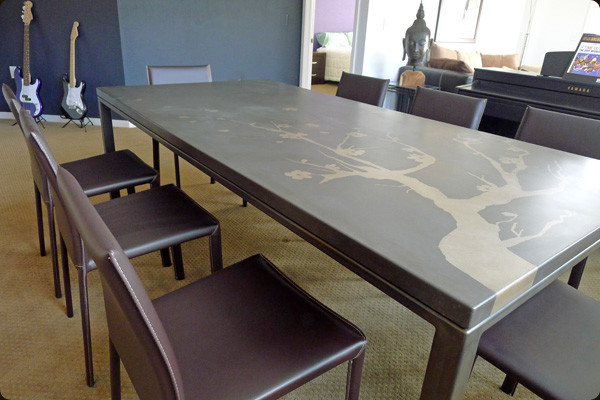 Concrete Furniture Contemporary Dining Table Sets Denver By Concretepete Llc