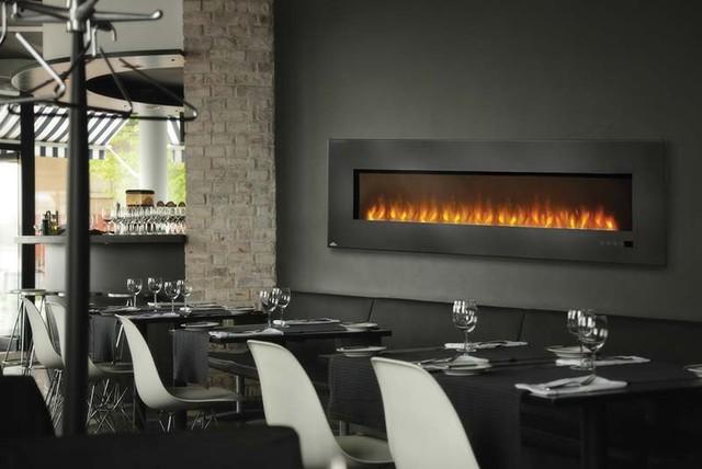 Napoleon 72 39 39 X 23 39 39 Linear Slimline Series Efl72h Electric Fireplace Modern Indoor