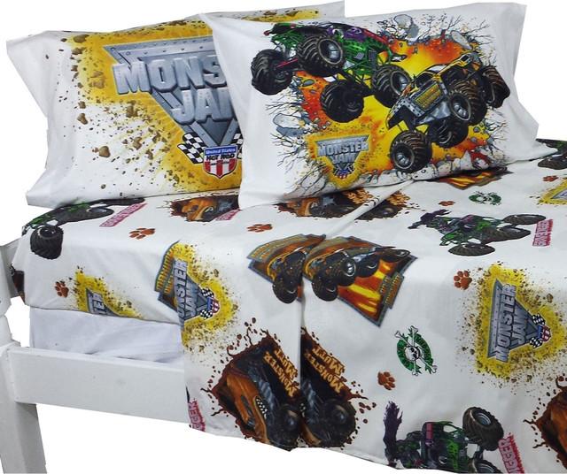 monster jam full sheet set monster truck destruction