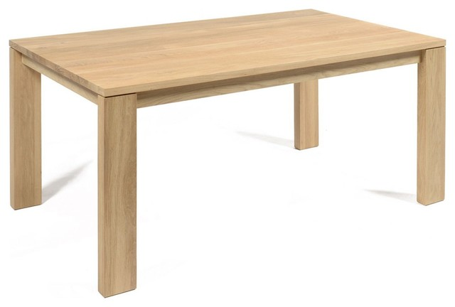 Emotion table de salle manger en ch ne massif l160cm for Table salle a manger york