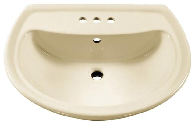 American Standard Cadet Sink Top Linen Modern Bathroom Sinks By Plumbersstock