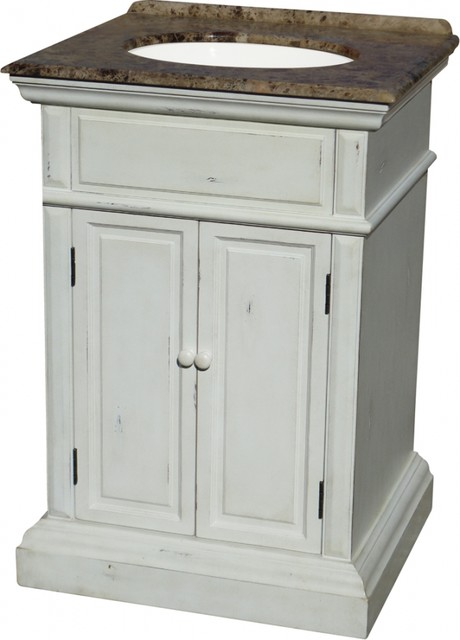 25 inch transitional single sink bathroom vanity traditional bathroom