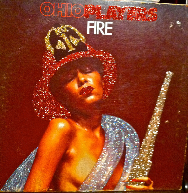Glittered Ohio Players Fire Album - Contemporary - Artwork - by mmm designs