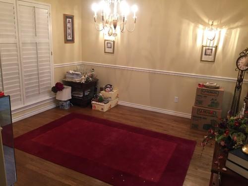 Formal dining room into
