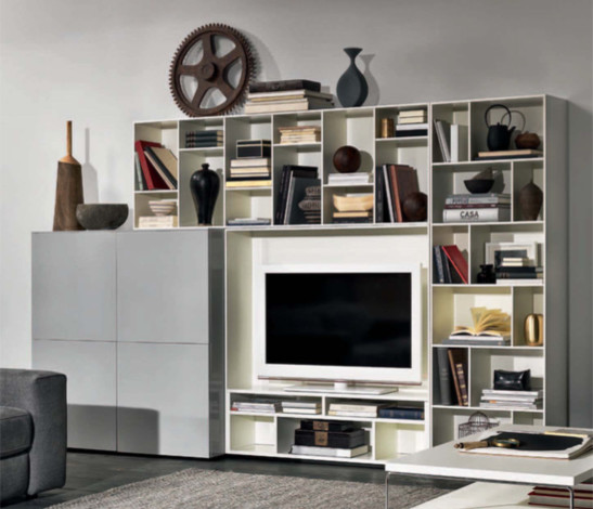 Wall System Novecento Collection Contemporary Living