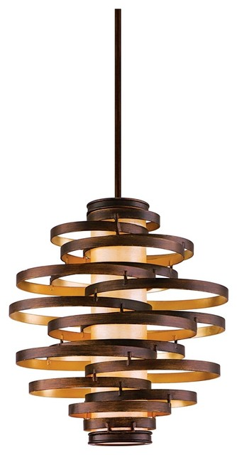 corbett vertigo medium pendant light contemporary. Black Bedroom Furniture Sets. Home Design Ideas